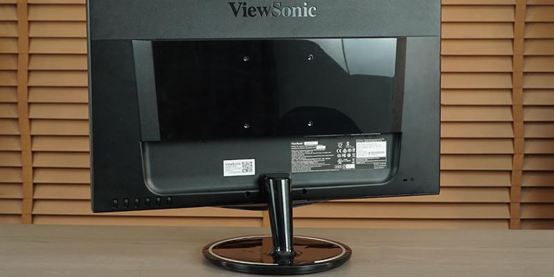 ViewSonic VX2457 FreeSync Gaming Monitor in the use