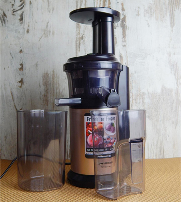 Review of Panasonic MJ-L500NXC Slow Juicer with Frozen Attachment, 150 W, Gold