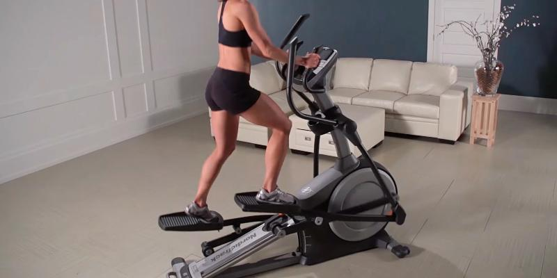 NordicTrack E7.2 Incline Elliptical Cross Trainer in the use