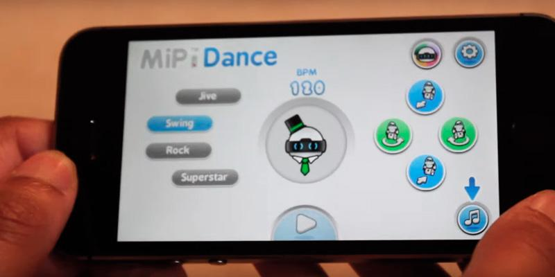 Wow Wee MiP Remote Control Robot in the use