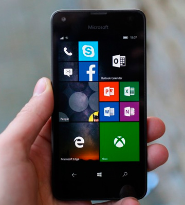 Review of Microsoft Lumia 550 SIM-Free Smartphone