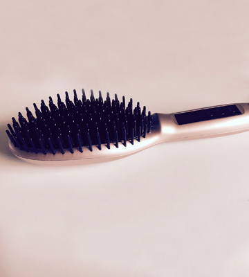 Review of Asavea Hair Straightener Brush Fastest Heating