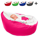 RUComfy RUCGAGACERISE Luxury Cuddle Soft Gaga Baby Bean Bag (Cerise Pink)
