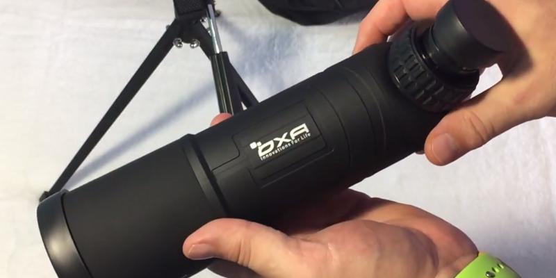 Review of OXA 20 Angled Waterproof Spotting Scope