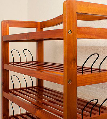 Review of Deuba 100698 Wooden Shoe Rack