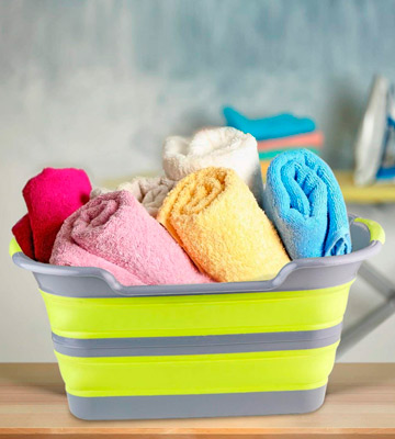 Review of BRAMBLE! Premium Collapsible Laundry Basket Foldable Washing Basket