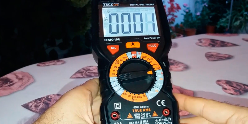 Review of TACKLIFE DM01M Advanced Multimeter, True RMS