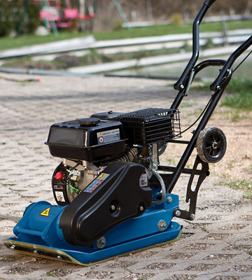 Review of Scheppach HP 1100 Plate Compactor