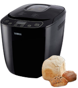 Tower T11003 Digital Bread Maker with 12 Automatic Programs